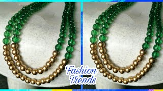 Download DIY Beads Necklace || DIY Long Necklace at Home Video