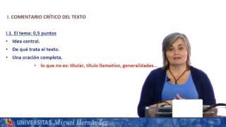 Download Castellano: Lengua y Literatura II: Julio 2016. Opción A y B Video