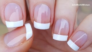 Download 5 Ways To Make FRENCH MANICURE Nail Art / DIY Ideas Video
