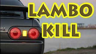 Download 600HP R32 GTR Lambo kill #lambo #GTR #nottodayjr Video