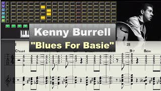 Download Kenny Burrell - Blues For Basie (1978) - Virtual Guitar Transcription Gilles Rea Video