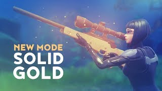 Download NEW MODE: SOLID GOLD! (Fortnite Battle Royale) Video