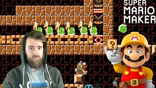Download 100 Mario No Death Masochist Challenge [SUPER MARIO MAKER] Video