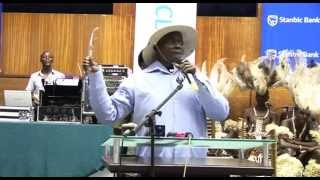 Download Mendo A.K.A Museveni suffocates Ugandan Bankers with Laughter. Video