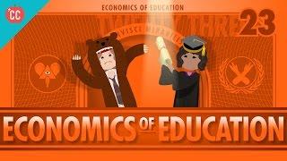 Download Economics of Education: Crash Course Economics #23 Video