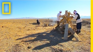 Download Beneath Iran's Dusty Desert Lie Ancient Water Tunnels Still in Use | National Geographic Video