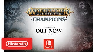Download Warhammer Age of Sigmar: Champions - Launch Trailer - Nintendo Switch Video