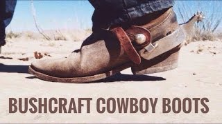 Download Modified Gear Tag Response: Bushcraft Cowboy Boots Video