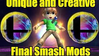 Download UNIQUE, CREATIVE and DESTRUCTIVE Final Smash Mods in Super Smash Bros Brawl/Project M Video
