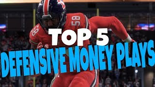 Download 5 BEST SHUT DOWN DEFENSES IN MADDEN 18! MONEY PLAY BLITZ AND BASE DEFENSES Video