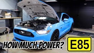 Download E85 Whipple Supercharged S550 Lays down some Serious Power! Video