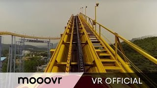 Download [Extreme] 360° RollerCoaster at Seoul Grand Park Video
