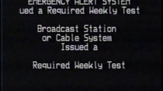 Download Emergency Alert - Test of the Emergency Broadcast System Required Weekly Test (2002) Video