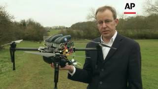 Download Fuel cell technology boosts drone flight Video
