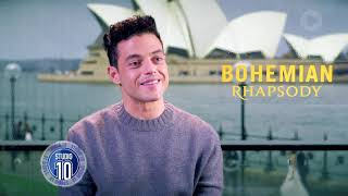Download Rami Malek On Embodying Freddie Mercury In 'Bohemian Rhapsody' | Studio 10 Video