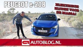 Download Peugeot e-208 rijtest: de leasetopper van volgend jaar? Video