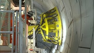 Download Crossrail Railway Systems: Drilling rig begins operation in the Crossrail tunnels Video