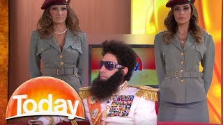 Download The Dictator imparts his wisdom on Aussie TV Video