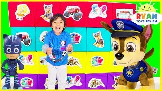 Download Giant Smash Surprise Toys with Paw Patrol, Jurassic World Dinosaur, Incredible 2 Video