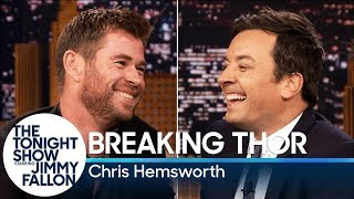 Download Breaking Thor with Chris Hemsworth Video