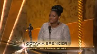 Download Octavia Spencer wins SAG Award for Best Supporting Actress Video