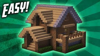 Download Minecraft: How To Build A Survival Starter House Tutorial (#4) Video