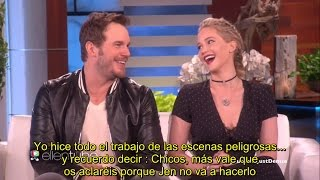 Download Jennifer Lawrence + Chris Pratt - Mejores momentos - SUBTITULADO ESPAÑOL Video