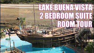Download Lake Buena Vista Resort 2 Bedroom Suite Room Tour | Family Travel In Orlando Florida Video