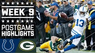 Download Colts vs. Packers | NFL Week 9 Game Highlights Video
