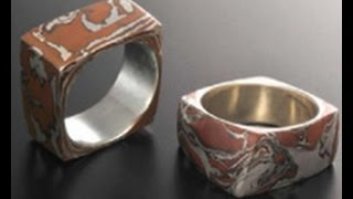 Download Jackie Truty, a Metal Clay Expert Creates Marbled Rings on Beads, Baubles & Jewels (1806-1) Video