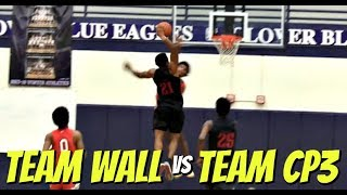 Download Team CP3 vs Team Wall Recap! Wendell Moore Crazy Putback Dunk Video