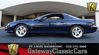 Download 2002 Chevrolet Camaro SS Berger Edition Stock #7046 Gateway Classic Cars St. Louis Showroom Video