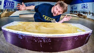 Download WORLD'S FIRST 100% WAX LEDGE | SKATE EVERYTHING EP. 291 Video