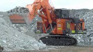 Download Hitachi EX8000 Excavator in Australia ( Hitachi EX8000-6 ) Video