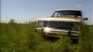 Download MotorWeek | Retro Review: '84 4X4 Comparo S 10 Blazer, Bronco II, and Jeep Cherokee Wagoneer Video