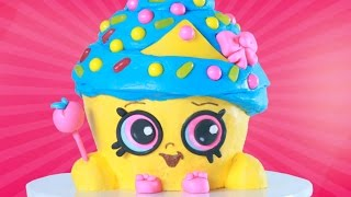 Download SHOPKINS CUPCAKE QUEEN CAKE - NERDY NUMMIES Video