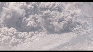 Download Sinabung Volcano Eruption Pyroclastic Flows 4K Stock Footage Reel 4096x2160 30p Video