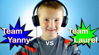 Download Trick Shot Titus | Team Yanny vs Team Laurel Video