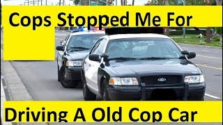 Download Police had something to say about my Crown Vic Video