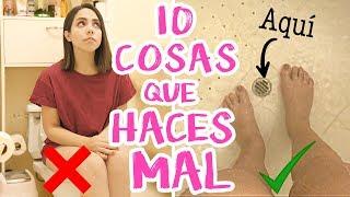 Download 10 COSAS QUE HACES MAL TODOS LOS DÍAS Y NO SABÍAS! | What The Chic Video