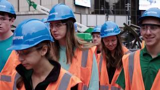 Download Notre Dame CEEES Visits the Moynihan Train Hall project Video