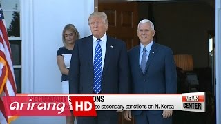 Download Donald Trump slams N. Korea on Twitter, S. Korea sees it as warning Video