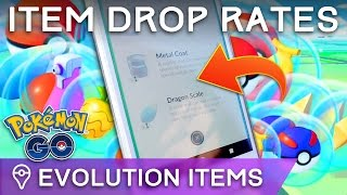Download HOW RARE ARE EVOLUTION ITEMS? POKÉMON GO ITEM DROP RATES Video