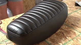 Download How to Make a Pleated Seat Cover for a Motorcycle Video