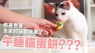 Download 全家的貓都在睡覺,午睡貓蛋餅【 好味貓廚房】EP120 Video