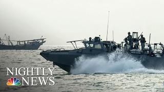 Download Iran Detains 10 U.S. Sailors in Persian Gulf | NBC Nightly News Video