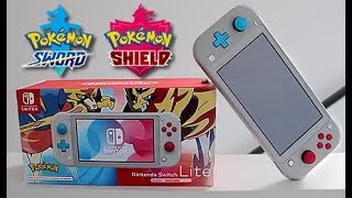 Download Pokemon Sword and Shield Switch Console Unboxing Video