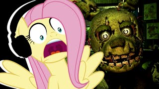 Download Fluttershy plays Five Nights at Freddy's 3 🍉 | LOSING IT! Video