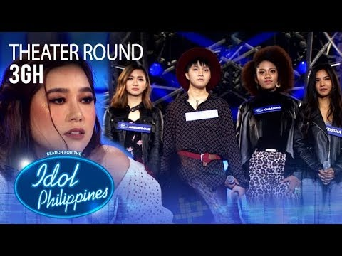 "3GH sings ""Try"" at Theater Round 