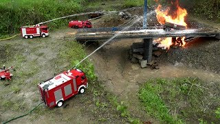Download RC HORRIBLE ACCIDENT,RC TANK TRUCK ON FIRE, Video